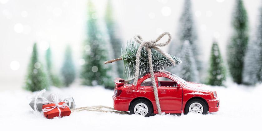 Consejos para viajar en coche estas Navidades